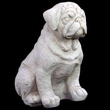 Fiberstone Dog Statue