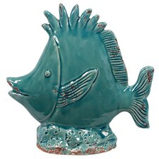 Ceramic Fish Figurine