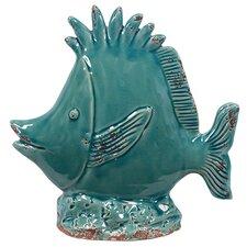 Ceramic Fish Figurine