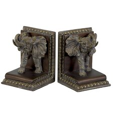 Resin Bookends 2 Piece Set