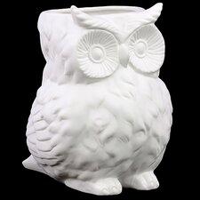 Porcelain Owl Figurine