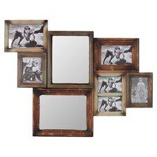 Wooden Multi-Photo/Mirror Frame