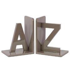 Wooden AZ Bookend