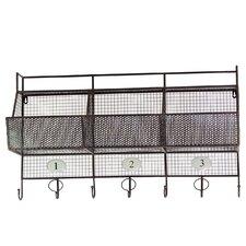Metal Shelf Coat Hanger