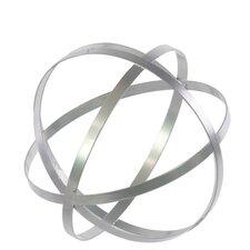 Metal Orb Dyson Sphere Sculpture