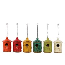 Ceramic Bird Feeder Assortment