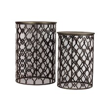 Metal Table Set of Two