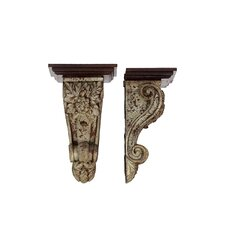 Resin Corbel Set of Two (Set of 2)