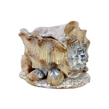 Ceramic Sea Shell Statue