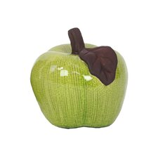 <strong>Urban Trends</strong> Home and Garden Accents Apple Figurine