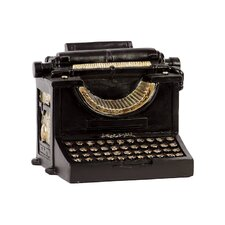 <strong>Urban Trends</strong> Home and Garden Accents Typewriter Figurine