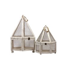 Hexagon Terrarium (Set of 2)
