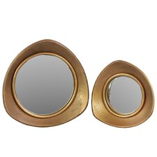 Home and Garden Accents Wall Mirror (Set of 2)