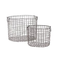 Metal Container (Set of 2)