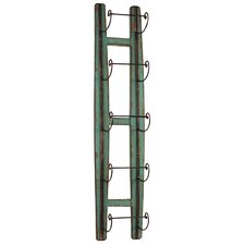 <strong>Urban Trends</strong> 5 Bottle Wall Mount Wine Rack