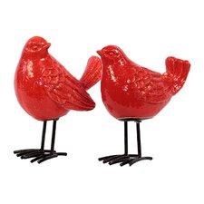 Ceramic Birds 2 Piece Set
