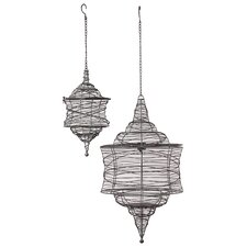 Metal Lantern Set of Two