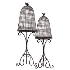 Metal Planter Set of Two (Set of 2)