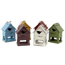 Hanging Birdhouse (Set of 6)