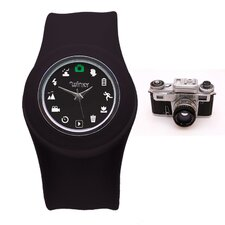<strong>Winky Designs</strong> Iconic Slap Watch (Black)