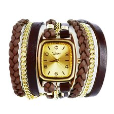 Sweet Dreams Women's Dulce de Leche Wrap Watch
