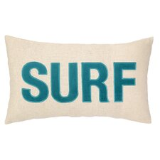 Nautical Applique Surf Pillow
