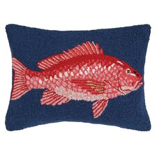 Nautical Hook Snapper Pillow