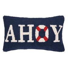 Nautical Hook Ahoy Pillow