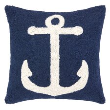 Nautical Hook Anchor Pillow