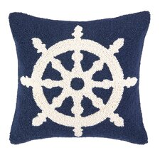 Nautical Hook Helm Pillow