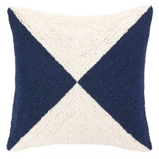 Nautical Hook Flag Pillow
