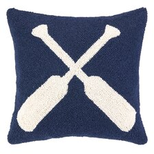 Nautical Hook Oars Pillow