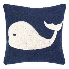 Nautical Hook Whale Pillow