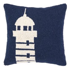 Nautical Hook Lighthouse Pillow