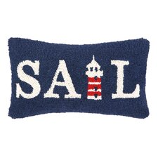 Nautical Hook Sail Pillow