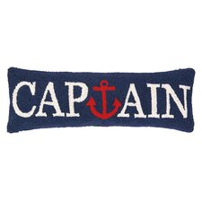 Nautical Hook Captain Anchor Pillow