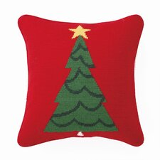 Trim a Tree Wool / Cotton Pillow