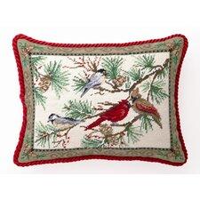 Snowbirds Wool / Cotton Pillow