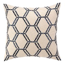Bamboo Embroidered Decorative Pillow