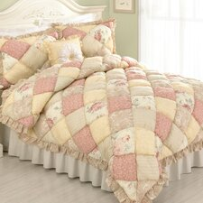 Molly 3 Piece Puff Quilt Set