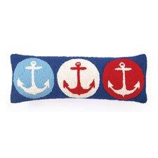 Anchor Wool Pillow