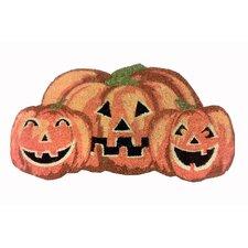 Pumpkin Shaped Coir Mat