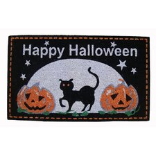 """""""Happy Halloween"""" Coir Mat"""