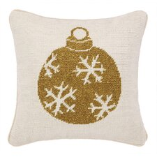 Ornament Needlepoint Pillow