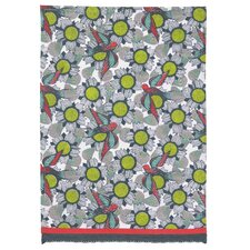 Floral with Bird Pattern Kitchen Towel