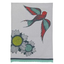Floral with Bird Kitchen Towel