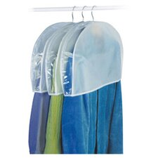 Peva Storage Shoulder Garment Cover (Set of 3)