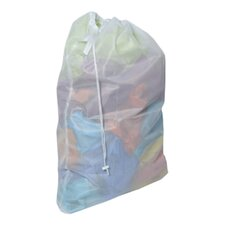 Laundry Mesh Drawstring Bag