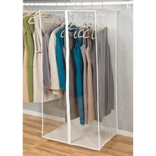 Clear Vinyl Storage Jumbo Maxi Rack Dress Garment Cover