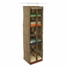 Cedar Storage 6-Shelf Inserts Hanging Organizer
